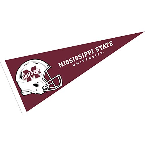 College Flags and Banners Co. Mississippi State Bulldogs Football Helmet Pennant