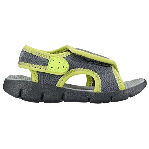 Nike Sunray Adjust 4 (TD) Zapatillas, Bebé-niños Gris-Verde claro