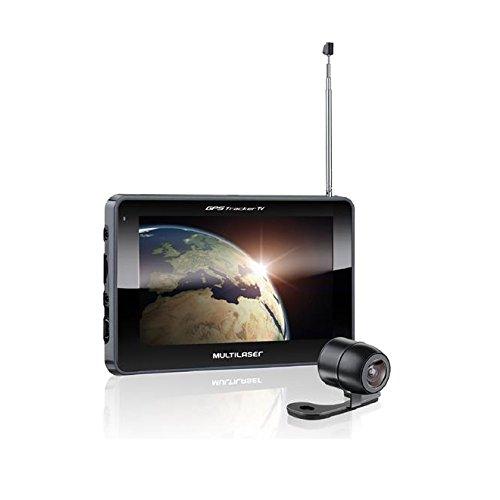 Gps Tracker Iii 7 Pol Com Câmera De Ré Tv Fm Gp039 Multilaser