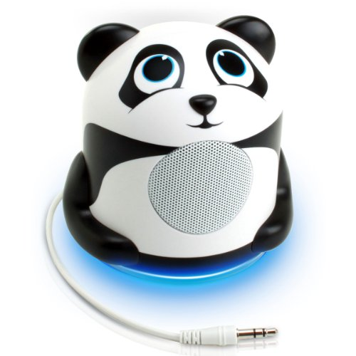 GOgroove Panda Pal High-Powered Portable Laptop and MP3 Spea
