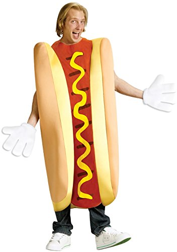 Fast Food Costume Dog (Adult size Hallowiener Hot Dog Costume -)
