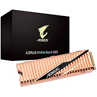 GIGABYTE AORUS NVMe Gen4 M.2 1TB PCI-Express 4.0 Interface High Performance Gaming, Full Body Copper Heat Spreader, Toshiba 3D NAND, DDR Cache Buffer, 5 Year Warranty SSD GP-ASM2NE6100TTTD (B07TJWZGL9) | Amazon price tracker / tracking, Amazon price history charts, Amazon price watches, Amazon price drop alerts