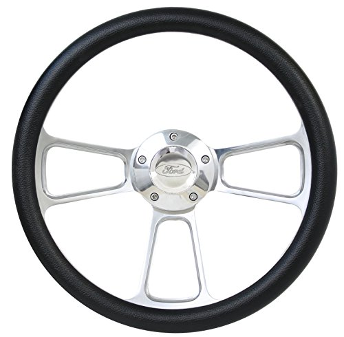 Muscle Style Wheel For 1970-1977 Ford Pick Ups Full Install Kit