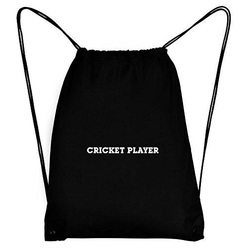 Teeburon Cricket Player Sport Bag by Teeburon