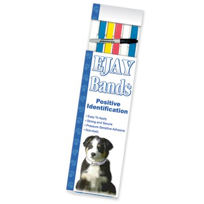 KVP Pet 500 Count ID Bands, 20