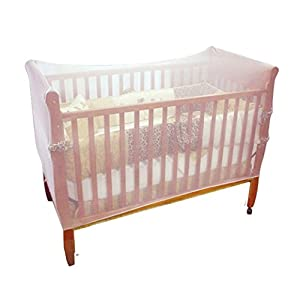 Amazemarket Universal Baby kids Care Mosquito Net Playpens Bed Cot Strollers Cribs Insect Mesh Protection Safety…