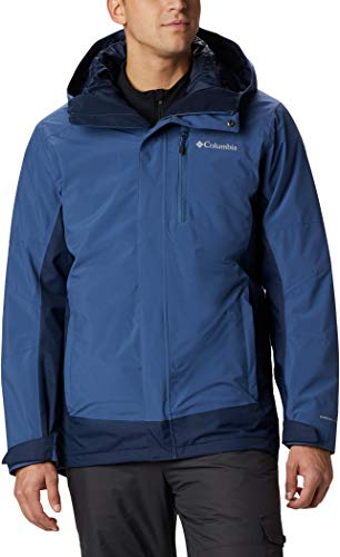 Columbia Herren Lhotse III Interchange Jacke, Night Tide, Collegiate Navy, S