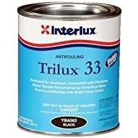 Interlux Black Trilux 33 Antifouling Paint, Quart YBA063/QT by Interlux