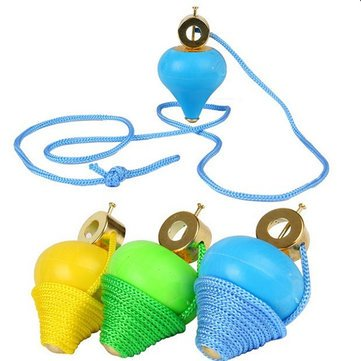 Gyro Swing - Baby Swing Rope - Toy Rope Swing - 5 x 8.5cm Swing Rope Gyro Brokered Puzzle Traditional Nostalgic Toys Children's Toys Stall Gyroscope Baby Toys ( Childrens Rope Swing )