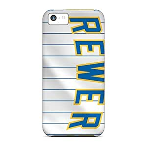 New Premium MXcases Milwaukee Brewers Skin Case Cover Excellent Fitted For Iphone 5c