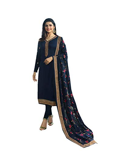 (Ready Made New Designer indian/pakistani fashion salwar kameez for women VF (LARGE-42, Blue))