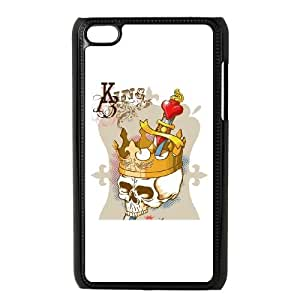 iPod Touch 4 Case Black King Skull SU4371087