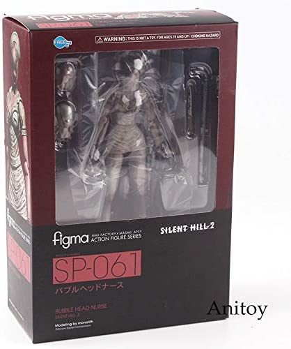 Figma Sp-061 Silent Hill Bubble Head Nurse Max Action Figure Toys New In Box