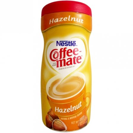Nestle Coffee-Mate Hazelnut 15 OZ (425.2g) [2 Pack]