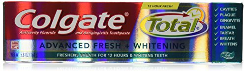 h Gel Size 5.8z Colgate Total Advanced Fresh Gel Toothpaste 5.8 Ounce ()
