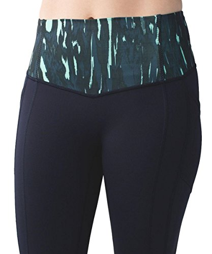 Lululemon All the Right Places Crop NVLB/PAMB Size 8