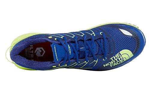 The North Face M Ultra Endurance II, Scarpe da Fitness Uomo Blu (Bright Blue/Dayglo Yellow 4cu)