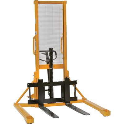 Material Handling Stacker (Northern Industrial Tools Manual Pallet Stacker with Fixed Legs - 2200-Lb. Capacity, 63in. Max.)