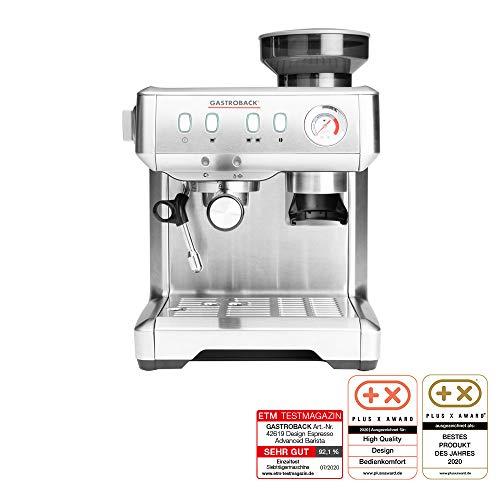 Gastroback 42619 Design Espresso Advanced Barista – Cafetera espresso (programable, con mecanismo cónico y bomba de…