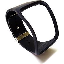 Original Genuine Oem Samsung Galaxy Gear S R750 Watch Strap Bracelet Band String (black)