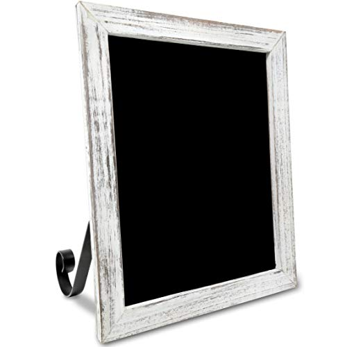 TenXVI Designs Freestanding Chalkboard Sign - Multiple Colors and Sizes - for Weddings, Tabletops, Countertops, Restaurants, Kitchens, Rustic Home Décor (Chalkboard Kitchen In)