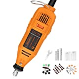 INLIFE Rotary Tool Kits Multi-Functional Power Rotary Tool Electric Drill Grinder with Adjustable