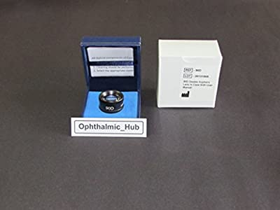 90D Diagnostic Non Contact Lens for Slit Lamp in Case KL-20.050