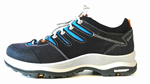 AKU MONTERA LOW GTX W'S - SCARPA DONNA TREKKING / MULTITERRAIN - COL. DARK GREY / LIGHT BLUE