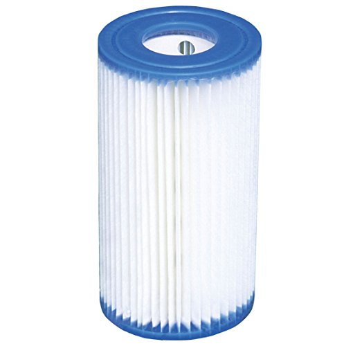 Intex Filter Cartridge Type A (59900E) - Replacement Type A and C For Easy Set Pool Filters - 12 Pack
