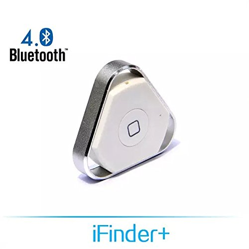 nonda iHere 3.0 Key Finder, Phone Finder, Car Finder, Selfie Remote and Voice Recording Rechargeable Bluetooth Tracker for iPhone 4S/5/6/6S, iPad, Samsung Galaxy S5/S6/Note 4 and More