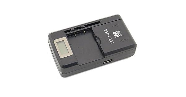 Amazon.com: Cargador de batería universal de 3,7 V para ...
