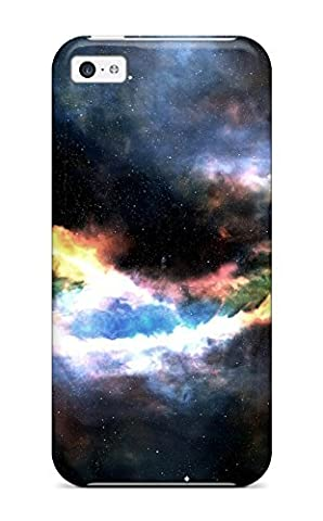High Quality Nebula Sci Fi People Sci Fi Case For Iphone 5c / Perfect Case (Cheap Speck Case For Iphone 5c)