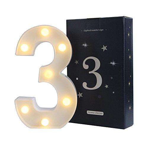 Led Number Lights in US - 9
