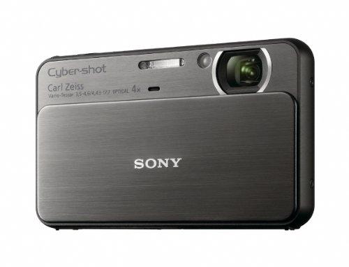 Sony T Series DSC-T99/B 14.1 Megapixel DSC Camera with Su...