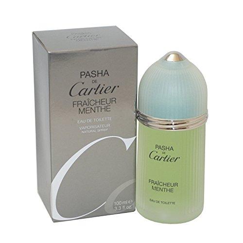Pasha De Cartier Fraicheur Menthe by Cartier For Men. Eau De Toilette Spray 3.3-Ounces