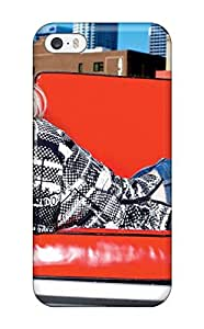 New Design Shatterproof HPIvryp1333nEoFz Case For Iphone 5/5s (avril Lavigne With Red Sofa Desktop )