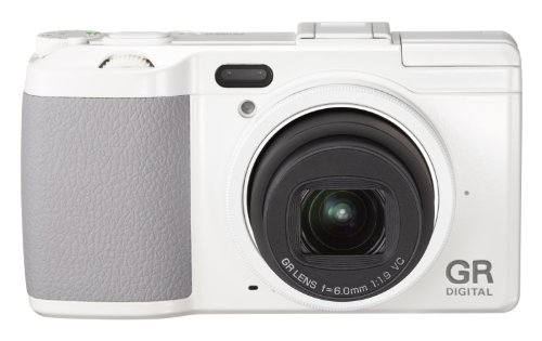 Ricoh GR DIGITAL IV US 10 MP Digital Camera with 1x Optical Zoom and 3-Inch LCD screen (White)