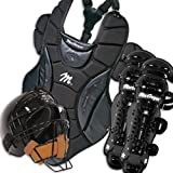 MacGregor Baseball Catchers Gear with Rawlings Helmet - Youth Color: Scarlet