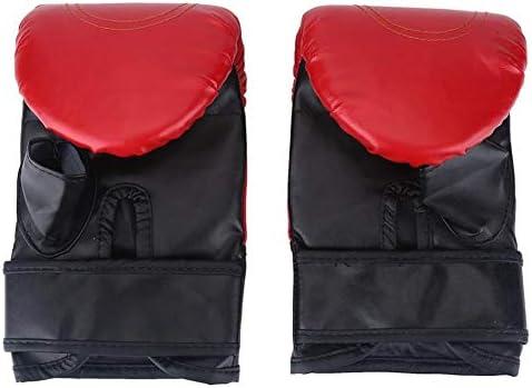 YIRANLT ジムボディExercieseテコンドーハンドグローブラップのために大人ボクシンググローブパンチボクシンググラップリング砂袋タイのスパーリンググローブ
