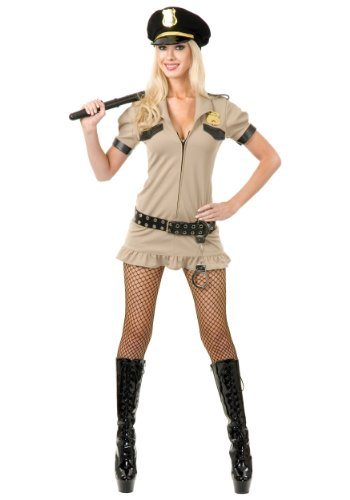 (Charades Women's California Sheriff, Khaki,)