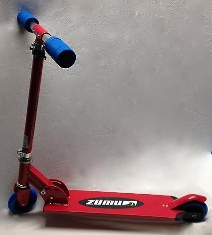 Amazon.com: zumu patinete Scooter plegable rojo: Toys & Games