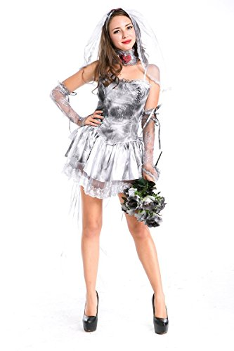 Halloween Darkness Princess Costumes for Zombie