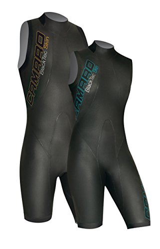 Camaro Black Tec Skin Shorty Speed Swim Shorty Triathlon Neoprenanzug