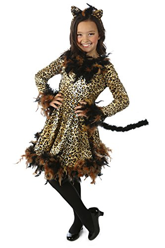 Leotard Cat Costume (Princess Paradise Chandelle Boa Cat Costume, Small)