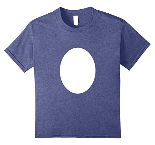 Diy Clever Costume Ideas (Kids Bird Stomach Random Bird Egg DIY Halloween Costume T-shirt 8 Heather Blue)