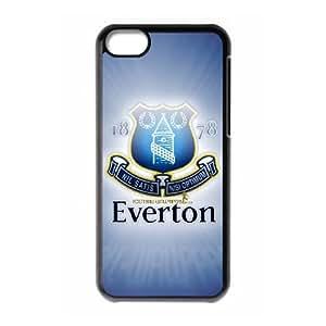 Printed Cover Protector iPhone 5C Cell Phone Case Black Everton Fdksi Unique Design Cases