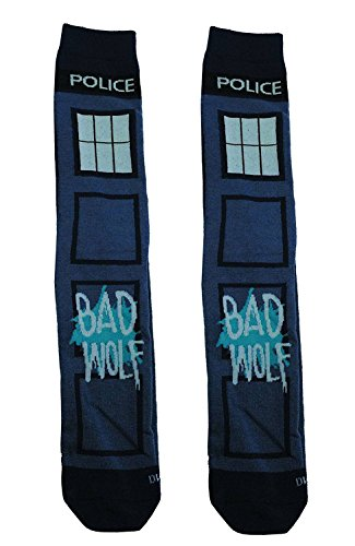 Matt Smith Doctor Who Costume Shoes (Doctor Who Bad Wolf Crew Socks)