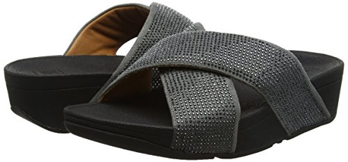 Infradito Argento Crystall pewter Fitflop Slide Donna Ii CwxR0wAqH