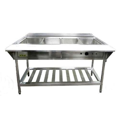 Electric Water Bath Steam Table - Adcraft - EST-240/KIT - Electric water bath steam table starter kit