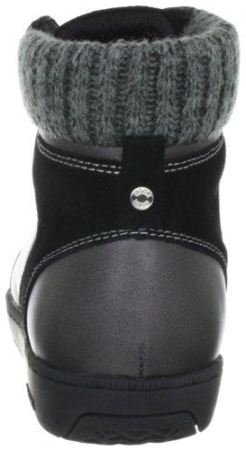 Geox DONNA HOPE D24A4L04341C9999 - Zapatillas fashion de cuero para mujer Negro